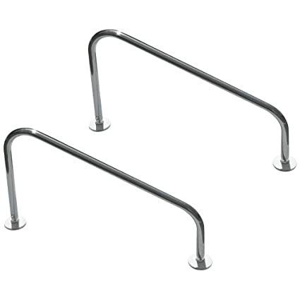 SRSmith 50-902 Deck Mounted Stair Rail for Pools