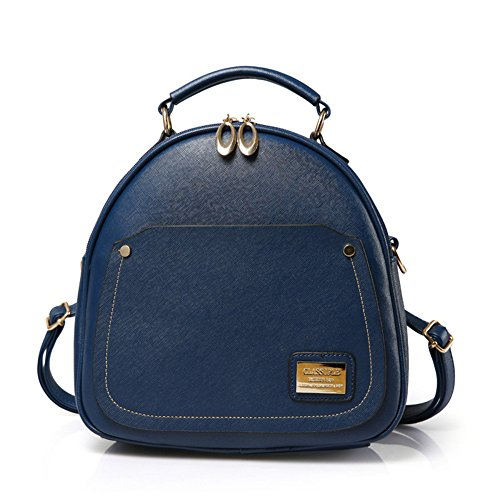 gator Leather Totes Shoulder Messenger Shell Bags Handbags Blue Clutches (Cellini Bread)