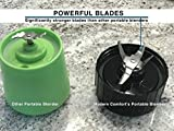 BlenderX CORDLESS HOME, PORTABLE & TRAVEL Blender | Xtra Power, Xtra Blends, Xtra Convenience | Xperience the Difference | Cocktails, Smoothies, Shakes & More | By ModernComfort