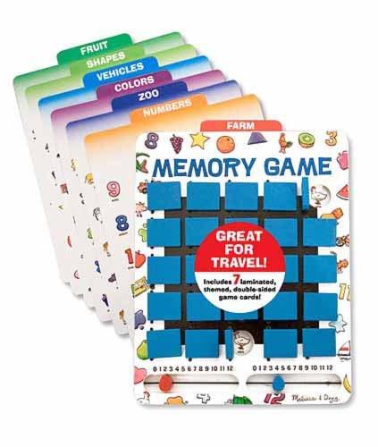 Melissa & Doug Flip To Win Memory Game 12090