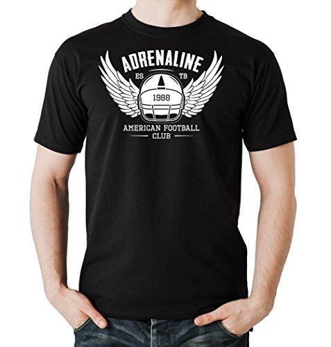 Adrenaline Helmet T-Shirt Black Certified Freak