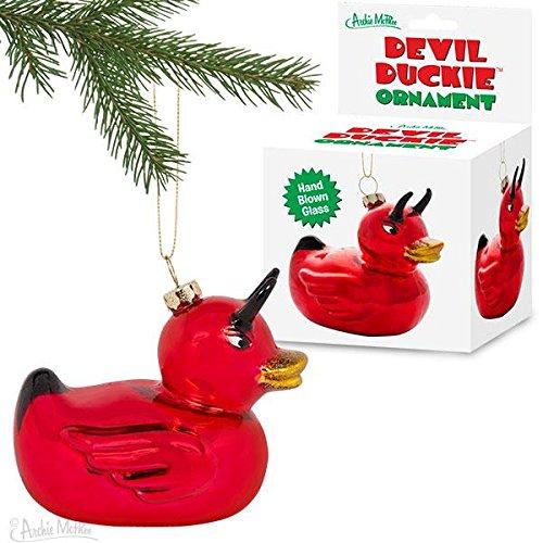 - Archie McPhee Devil Duckie Ornament
