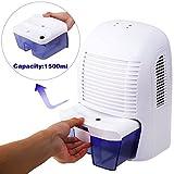 Rendio Auto Quiet Portable Compact Home Dehumidifiers, Electric...