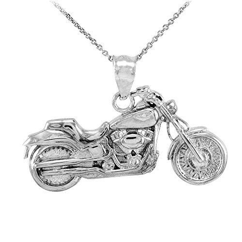 925 Sterling Silver High Polish Biker Ch - 925 Sterling Silver Motorcycle Shopping Results