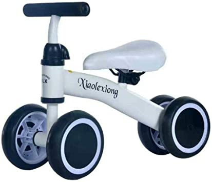 Jinclonder Bicicletas de Equilibrio para bebés Bicicleta, Caminante para niños 10 Meses -36 Meses Juguetes para 1 año de Edad Sin pedaleo Infantil 4 Ruedas Niño Primer cumpleaños de Primer año Regalo: