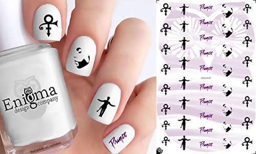 - Prince Accessories (Clear Water-Slide Nail Decals)