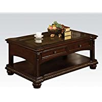 Acme 10322 Anondale Coffee Table, Cherry Finish