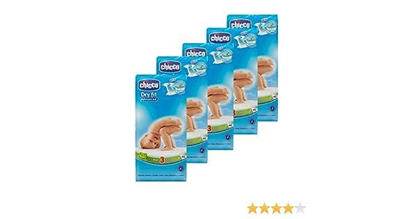 Chicco Dry Fit Advanced capa Midi tamaño 3, 10 unidades: Amazon.es: Salud y cuidado personal