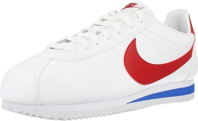 hacer clic guardarropa instalaciones  NIKE Classic Cortez Leather, Zapatillas para Mujer: Amazon.es: Zapatos y  complementos