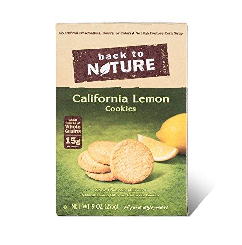 Back to Nature Non-GMO California Lemon Cookies, 9 Ounce