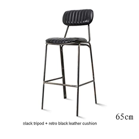 Groovy Amazon Com Bar Chair Retro Bar Stool Wrought Iron Back Bar Onthecornerstone Fun Painted Chair Ideas Images Onthecornerstoneorg