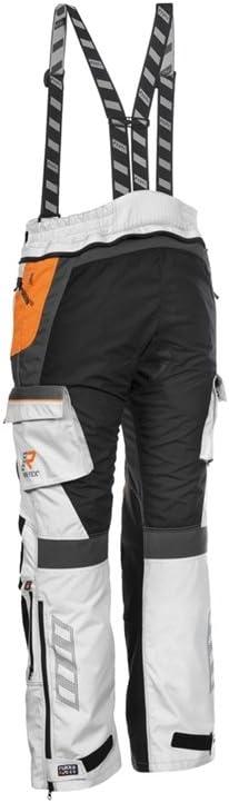 Rukka Roughroad Gore Tex Motorcycle Trousers 48 White Orange Standard Auto