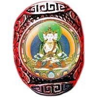 August-chi 手作り ガラスカバー 御本尊 八大守護神 八尊仏 ビンテージ リング 指先から厄落し 指輪