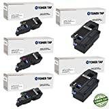 Toner Tap Dell E525W Compatible Toner Set For Dell E525W Color Laser All-in-One Multifunction Wireless and Cloud Ready Printer by Dell