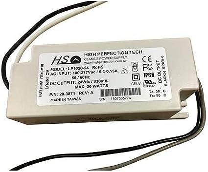 High Perfection Tech LP1020-20-C0675 Class 2 Power Supply Ballast