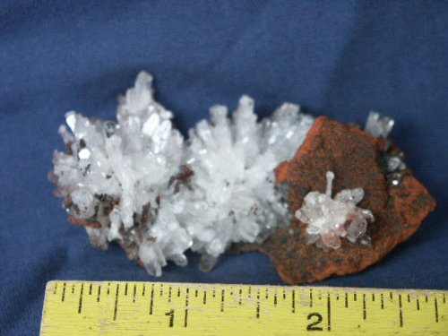 Mexican Crystal (Rare Clear Mexican Hemimorphite Crystals, T2.15.1)
