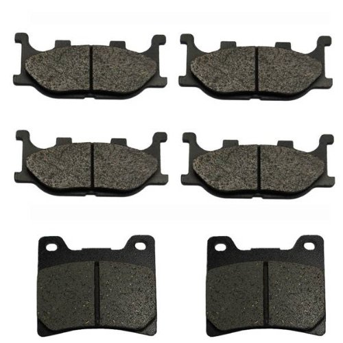 1999-2008 Yamaha V Star 1100 XVS1100 Custom Front & Rear Brake Pads (1100 Custom Yamaha V Star)