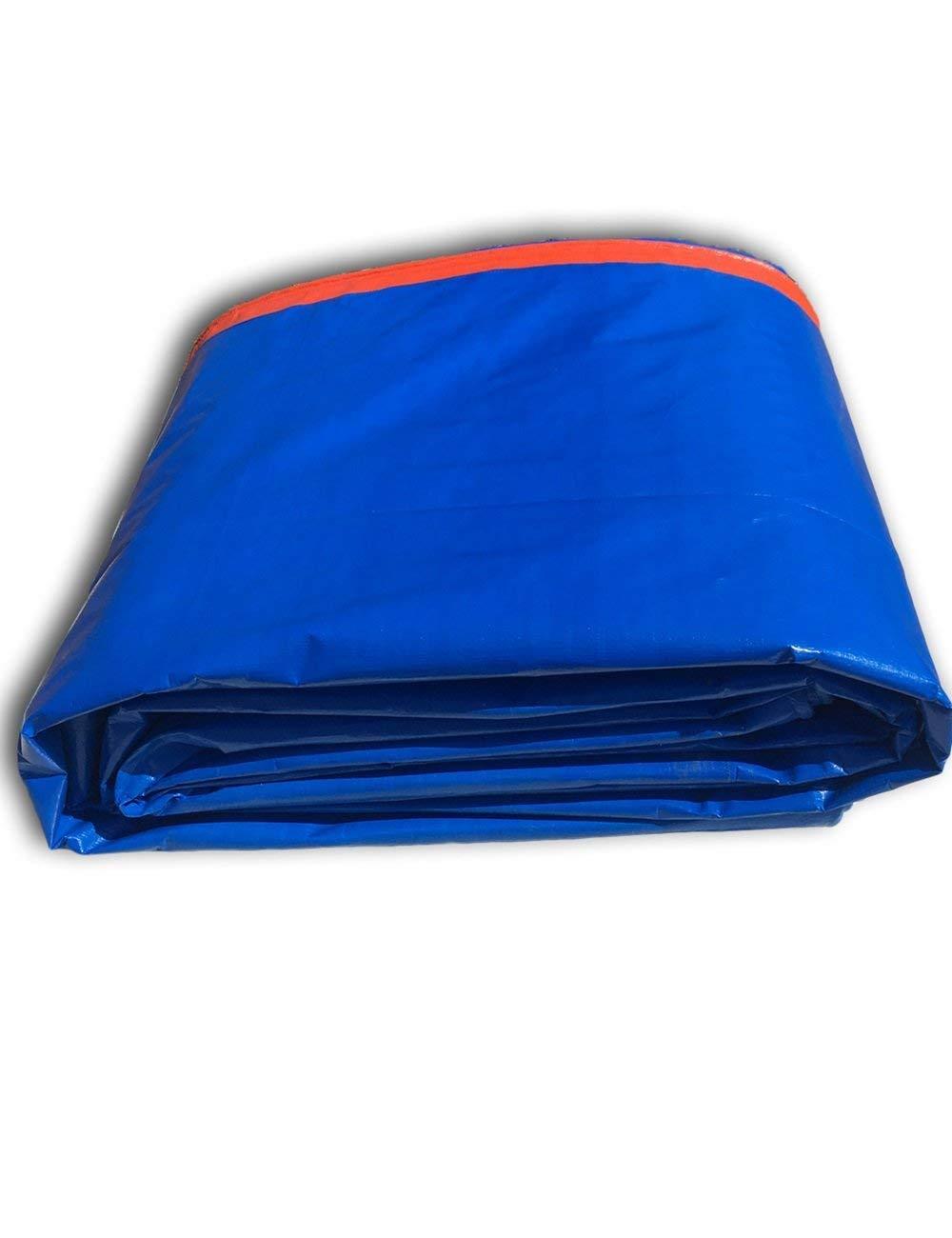 Fonly Blauer Orange regendichter Wasserdichter Schatten-Plane-Segeltuch-Zelt-kampierende Tarp-Überdachung