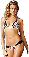 Beach Bunny Swimwear Panama Animal Lady Lace Reversible Bikini Set
