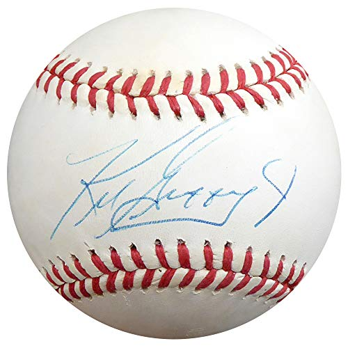 - Ken Griffey Jr. Autographed Official AL Baseball Seattle Mariners Beckett BAS #E95340
