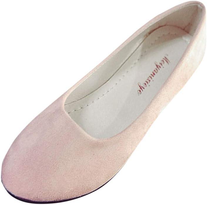 Zapatos Planos Mujer Alpargatas Bailarinas Zapatillas sin Cordones para Mujer Zapatos Casuales Mocasines Zapatillas Zapatos de Cordones Calzado: Amazon.es: Zapatos y complementos