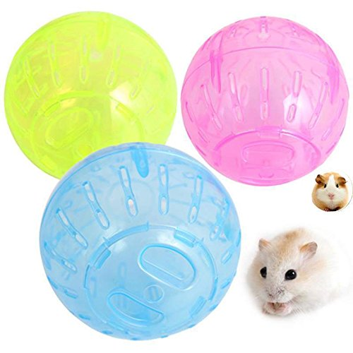 She-love Run-About Mini 4 inch Small Animal Hamster Run Exercise Ball (Ball For Small Hamsters)