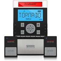 Eton ZoneGuard+ Weather Alert Clock Radio System with Wireless Alert Modules - Black (NZG200B)