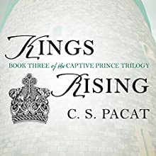 Kings Rising Audiobook by C. S. Pacat Narrated by Stephen Bel Davies