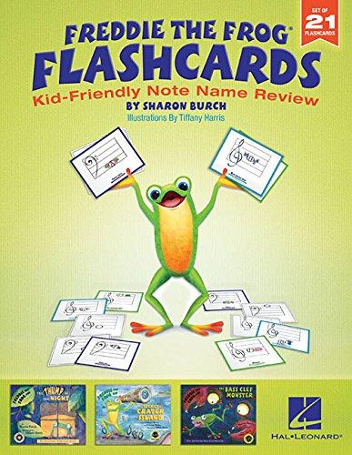 Freddie the Frog  Flashcards: Kid-Friendly Note Name ()