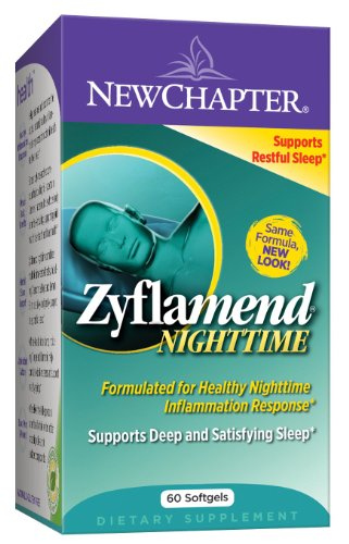New Chapter Zyflamend NIGHTTIME, 60 gélules