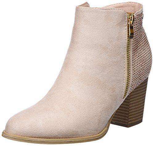 XTI Damen 47750 Kurzschaft Stiefel Pink (Nude)