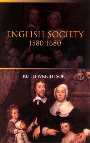 ENGLISH SOCIETY:1580-1680