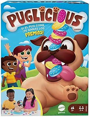 Mattel Games Puglicious, Juego de Mesa para niños a Partir de 5 años (Mattel GND65): Amazon.es: Juguetes y juegos