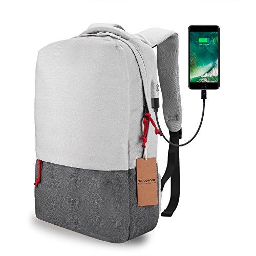 Laptop Backpack WOODOFNE High Capacity 15.6 inch Business Ba