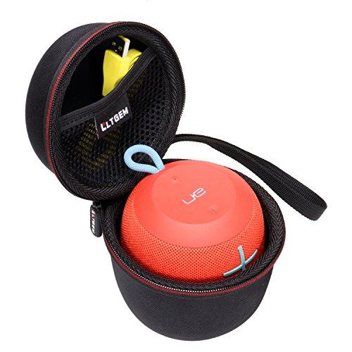 LTGEM EVA Hard Case for Ultimate Ears WONDERBOOM Portable Waterproof Bluetooth Speaker- Travel Protective Carrying Storage Bag (Black)
