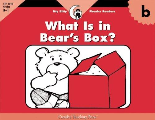 Read Online What Is In Bear's Box?, Itty Bitty Phonics Reader (Itty-bitty Phonics Readers) pdf