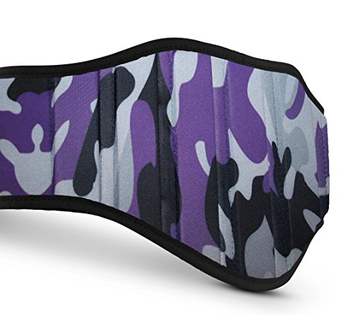 Weight Lifting Belts (Camouflage Purple, Large)