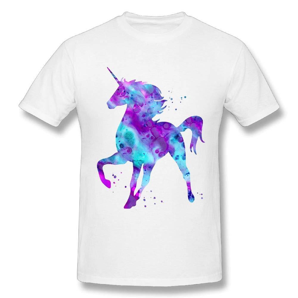 Cenjoan Starry Unicom Short Sleeve T Shirt Tee S