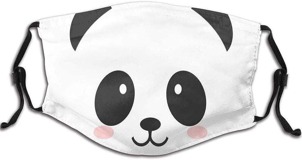 Tela Lavable de Algod/ón Suave Lavable Y Reutilizables Panda Dibujos Animados Algodon Reutilizables para ni/ños