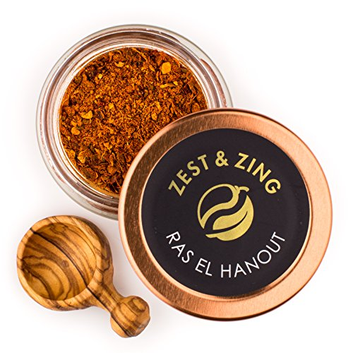 - Ras el Hanout (Ground), 0.7 oz - Premium Blends By ZEST & ZING. Fresher, convenient, stackable Spice Jars.