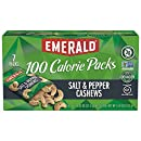 Emerald Nuts, Salt and Pepper Cashews 100 Calorie Packs, 7 Count Box