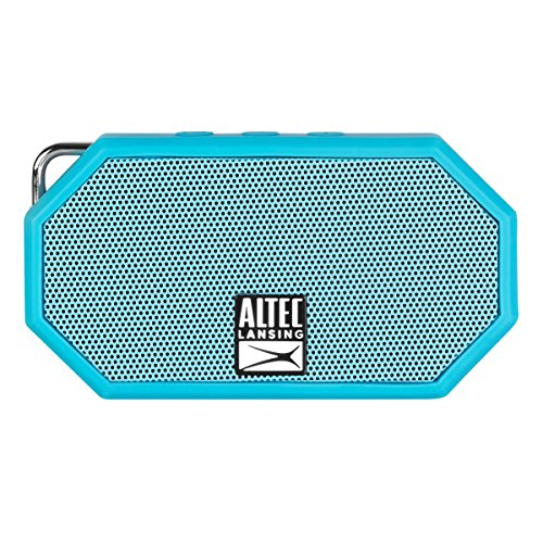 - Altec Lansing iMW255-BLU / IMW257-AB Mini H2O Bluetooth Waterproof, Sandproof, Snowproof, Dustproof, and Shockproof Wireless Speaker, Styles and Colors May Vary