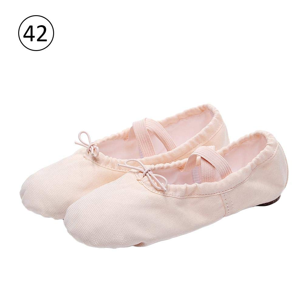 Chaussure de Ballet Ballerine Fille Unisexe Chaussure de Danse Chaussures  Pilates Chaussures Yoga Gymnastique Split Plate 4b9f9b045177