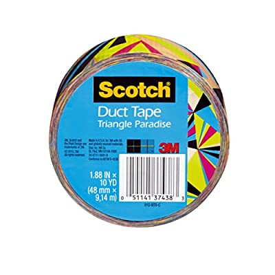 Scotch Scotch Duct Tape, Triangle Paradise, 1.88-Inch x 10-Yard from Scotch