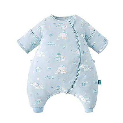 Saco De Dormir Bebés HUYP Mangas Desmontables Algodón para Niños Patear Las Patas del Bebé Saco