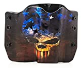 Best Outlaw Holsters 1911 Holsters - Skull Flag OWB Holster (Right-Hand, 1911 w/o Rail) Review