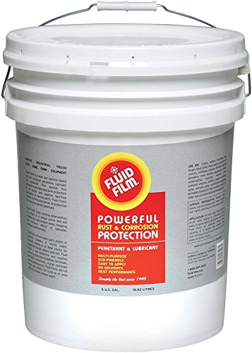 Fluid Film Rust & Corrosion Protection Control Multi Purpose Penetrant & Lubricant 5 Gallon