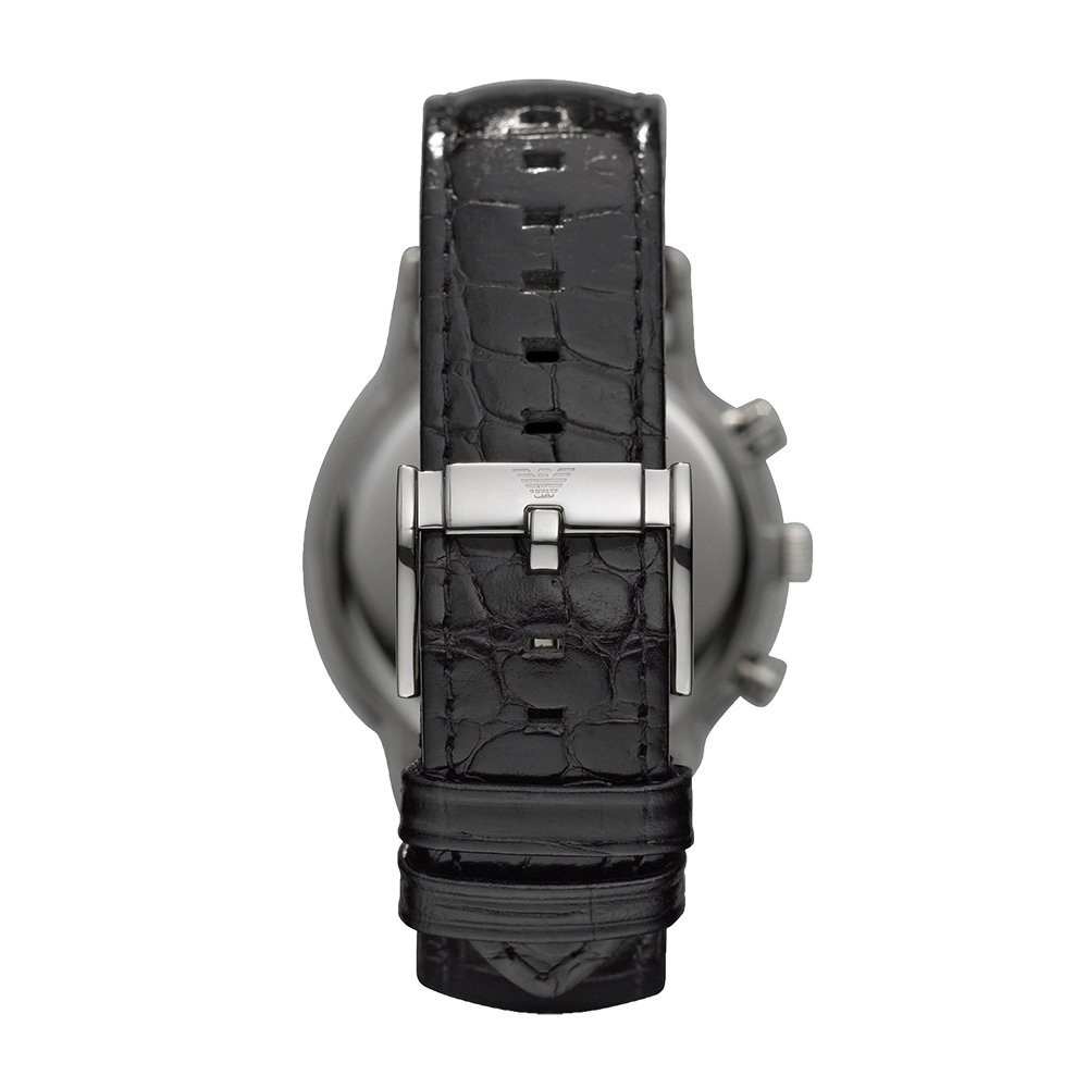 d5ffea9aec4b Amazon.com  Emporio Armani Men s AR2447 Dress Black Leather Watch  Emporio  Armani  Watches