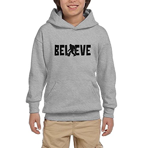 GUFEIFEIN Believe Gorillas Youth Boys/Girls Hoodie Sweatshirt Pullover Hood With ()