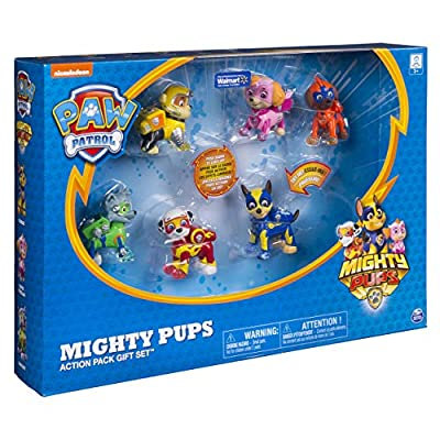 Paw Patrol Mighty Pups Action Pack Gift Set: Toys & Games